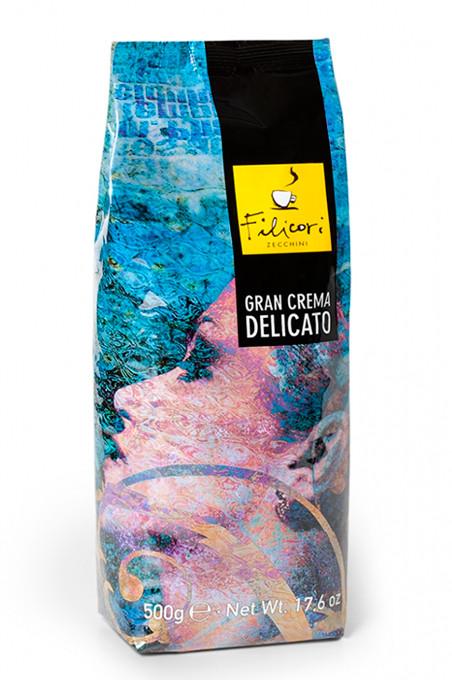 Кофе в зернах Filicori Zecchini Gran Crema Delicato 500 г