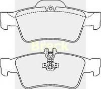 Колодки тормозные задние дисковые Mercedes w220/w211/r230 /c219 233340070220 Breck