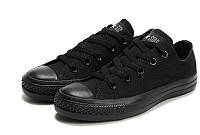 Кеды женские Converse All Star low all black