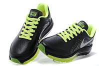Кроссовки мужские Nike Air max 2014 leather Black-Green