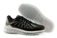 Кроссовки мужские Nike Air max 2015 leather Black-Grey