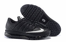 Кроссовки мужские Nike Air max 2016 leather Black