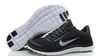 Кроссовки мужские Nike Free Run 3.0 black-grey 2