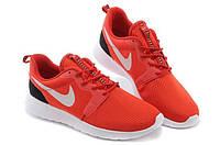 Кроссовки мужские Nike Roshe Run II Black-red, фото 1