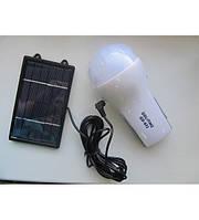 Светодиодная лампа на солнечной батарее GD-652