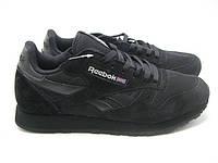 Мужские кроссовки Reebok CL Classic Suede Black