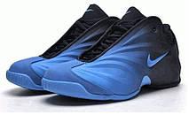 Баскетбольные кроcсовки мужские Nike Air Flightposite blue