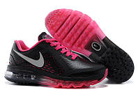 Кроссовки женские Nike Air max 2014 leather black-rose