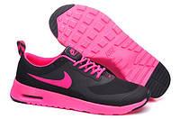 Женские кроссовки Nike Air Max Thea Black Ultra Pink, фото 1