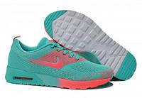 Женские кроссовки Nike Air Max Thea бирюзово-коралловые