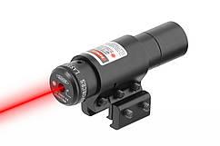 Лазерный целеуказатель красный луч  +универсальное крепление в комплекте