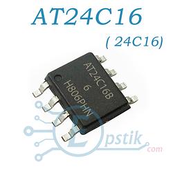 Память AT24C16 (24C16) энергонезависимая SOP-8 ATMEL