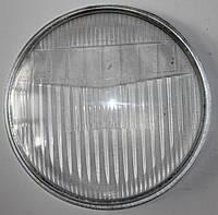 Стекло фары Дельта, Альфа круглое 140mm