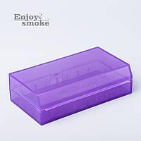 Кейс для аккумуляторов Efest H2, 2 x 18650 / 4 x 18350 - фиолетовый