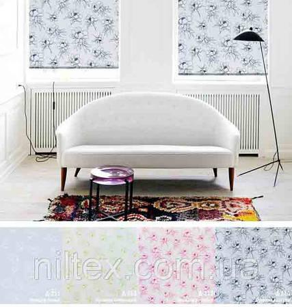 Рулонные шторы Орхидея
