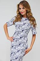 Дизайнерское джинсовое платье 2017 (рр 42-50)