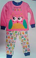 Пижама для девочек Розовая 104 см 3 года ПЖ40а Бэмби Украина