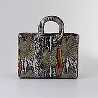 Женская сумка в стиле Dior змея