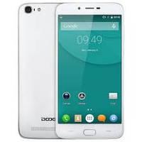Смартфон Doogee Y200(White), 2sim, 3000mAh, 8/5Мп, 2/32Gb, экран 5.5''IPS, GPS, 4G, 4 ядра, Android 5.1