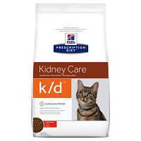 Hills Prescription Diet Feline k/d Kidney Care 5кг - для кошек почечная или сердечная недостаточность  (4308)