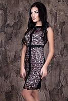 Красивое платье Наоми  (черный)