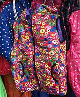Детская жилетка на девочку оптом на 2-7 лет пуговка