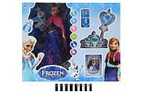 """Кукла """"Frozen"""" (пульт управ., танцует, звук и свет. эффект) в кор. 42,8*15,5*35 см. /12/"""