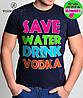 "Футболка молодежная ""Save Water"" "" Valimark biz "", фото 3"
