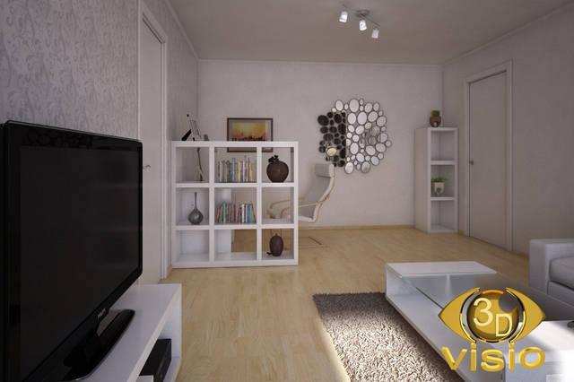 Визуализация гостинной (3D дизайн) 90