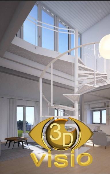 Визуализация лестниц (3D дизайн) 95