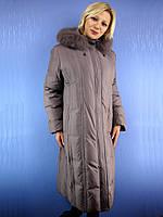 Женское пальто зимнее / пуховик Decently 1612 (размеры 52-68) DEIFY, PEERCAT, SYMONDER, COVILY, DECENTLY