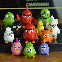 Фигурки коллекционные Angry birds 12 шт/компл., фото 1