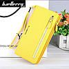 Клатч для женщин Baellerry Italia Classic желтый и серьги в подарок