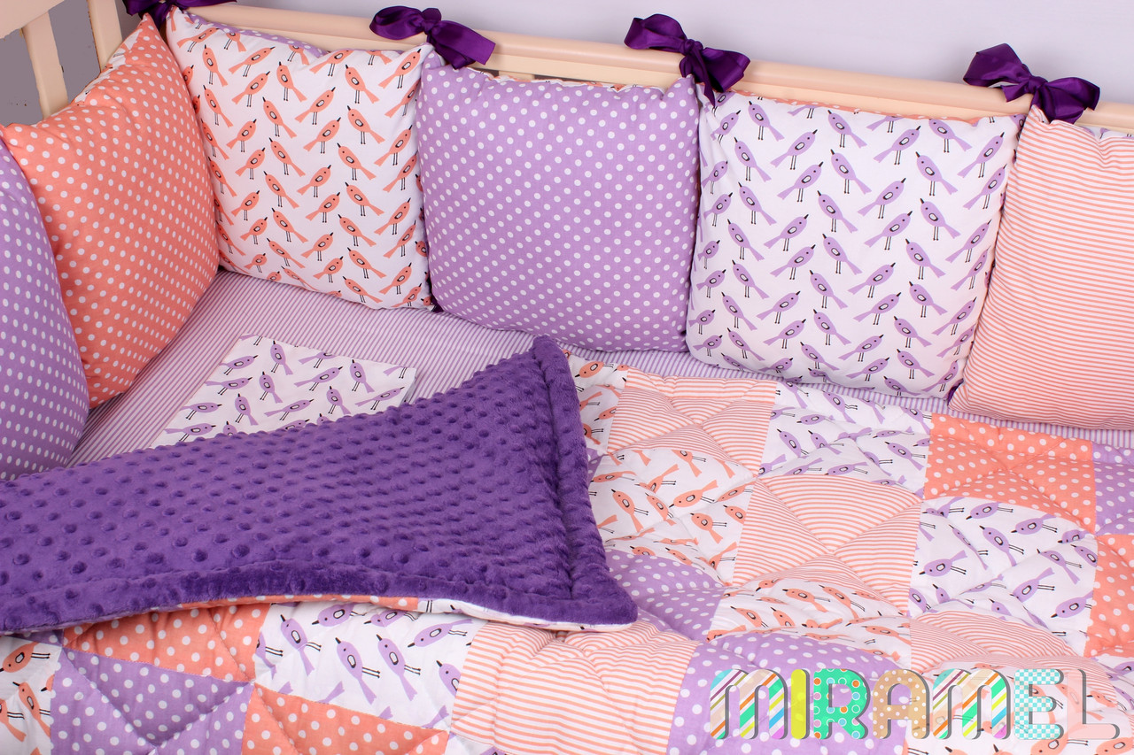 Набор постельного белья в кроватку