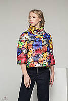 Куртка С-10Д Цветы