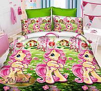 Комплект постельного белья полуторный детский двуспальный подростковый ранфорс