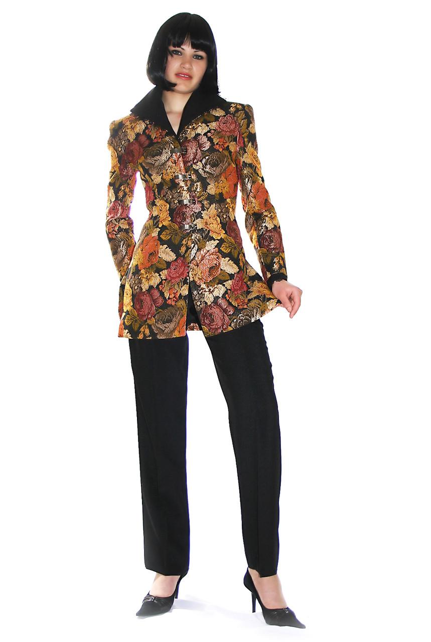 Костюм с гобеленовым пиджаком Арт.649 р.36,46