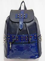 Рюкзак комби шипы темно-синий, фото 1
