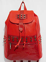 Рюкзак комби шипы красный
