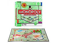 """JT Игра """"Монополия"""" 6123, жетоны, карточки, деньги, фигурки зданий, кубики, экономическая игра, в коробке"""