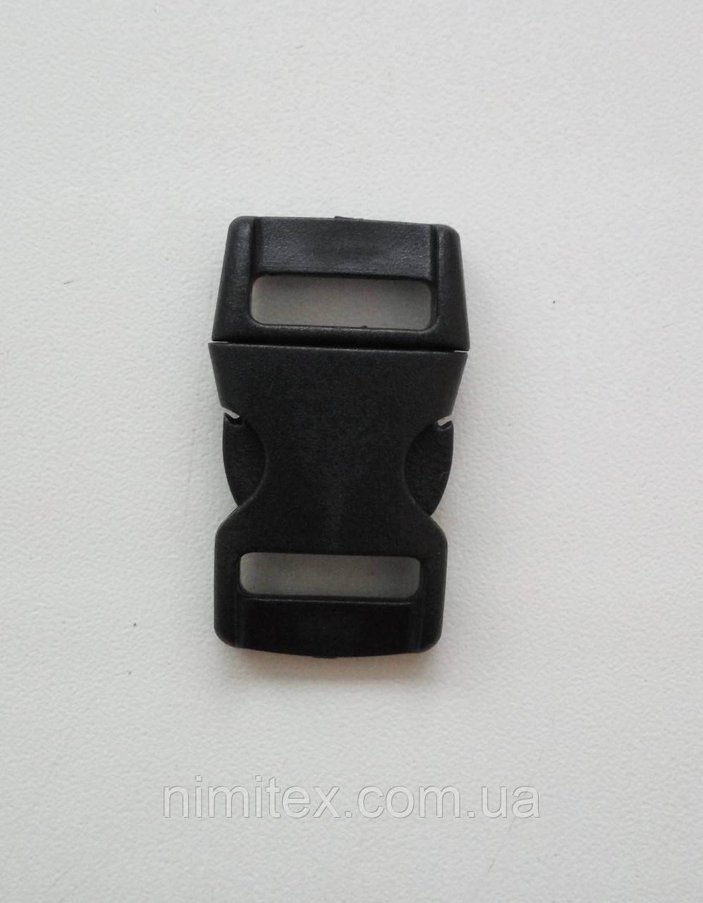 Фастекс 15 мм черный