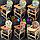 """Стілець-столик для годування Наталка/Зайченя (трансформер) """"Кульки"""", фото 2"""