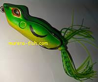 Силиконовая приманка лягушка жаба с двойником Frog 4Flexx 15g
