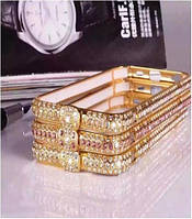 Metal bumper for iPhone 6 with swarovski big stone