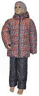 Теплый зимний костюм мальчику (куртка+штаны)