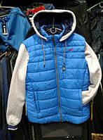 Мужская куртка трансформер Nike из плащевки, куртка Найк