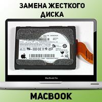 "Замена жесткого диска MacBook 13"" 2008-2009 в Донецке"