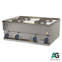 Плита электрическая 4-х конфорочная настольная Kogast ES-60