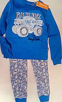 Пижама для мальчиков Синий 128 см 7 лет ПЖ39у Бэмби Украина