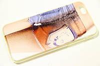 Monro jeans plastic case for iPhone 6